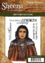 Sheena Douglas - Perfect Partners - Call of the Wild Rubber Rubber Stamp - Mother Nature